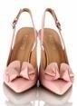 Poletto İnce Topuklu Ayakkabı Pembe
